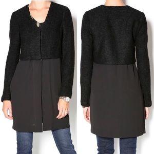 Bailey 44 Cheryl black blazer cardigan, XS